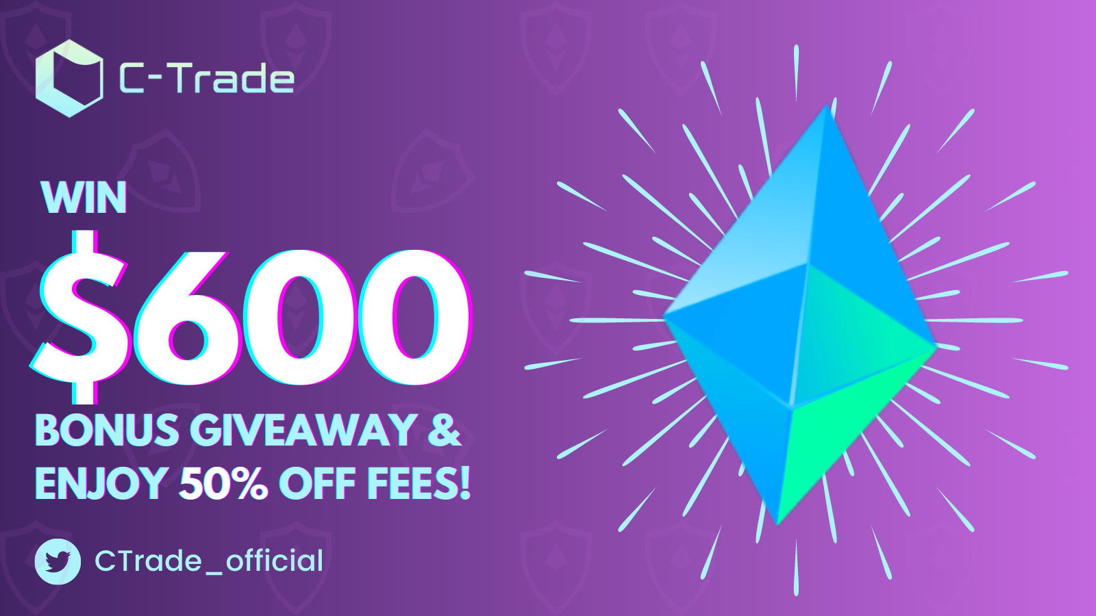 Win $600 Bonus & 50% Off Fees to Celebrate ETHUSD Perpetual Trading Pair Launch!