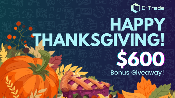 Happy Thanksgiving! $600 Bonus Giveaway!